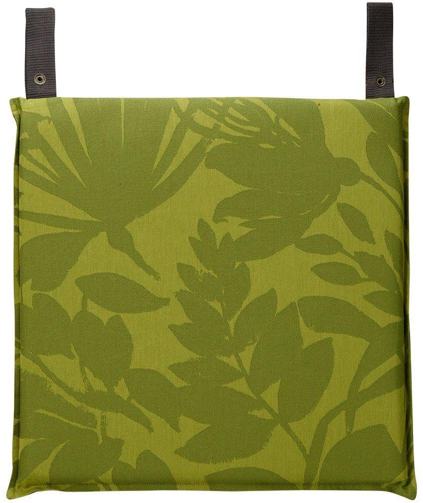 Poduszka na krzesło powlekana Le Jacquard Fran ais Bahia Green