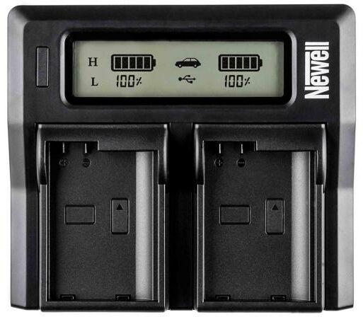 Newell DC-LCD do akumulatorów NP-T125