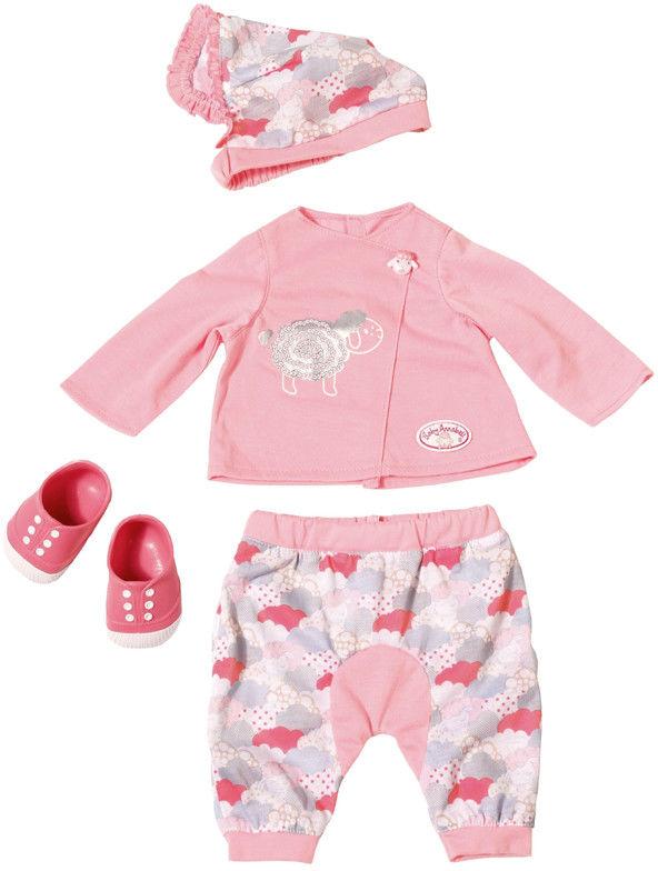 Baby Annabell - Różowe ubranko z czapeczką i bucikami 700402