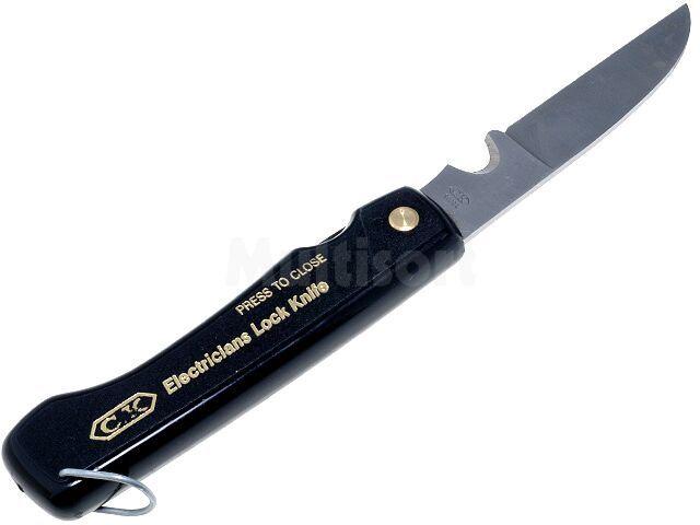 Nóż dla elektryków z chowanym ostrzem CK-9039L
