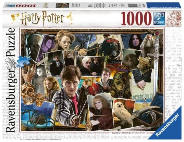 Puzzle 1000el Harry Potter Voldemort 151707 RAVENSBURGER (RAP 151707)