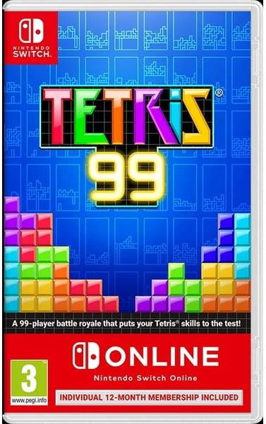 Gra Tetris 99 + Nintndo On-Line (Nintendo Switch)