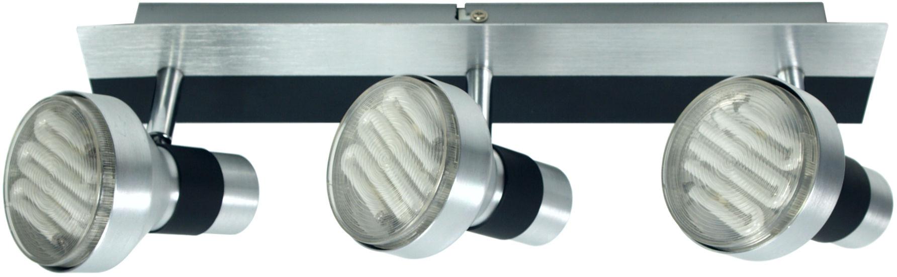 Candellux SORTHA 1 93-08292 listwa oświetleniowa srebrno-czarny regulacja klosza 3X9W GX53 43cm