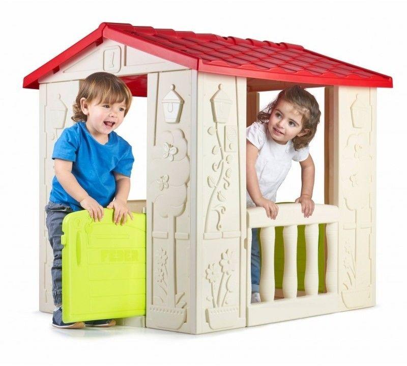 Domek Ogrodowy Happy House Feber