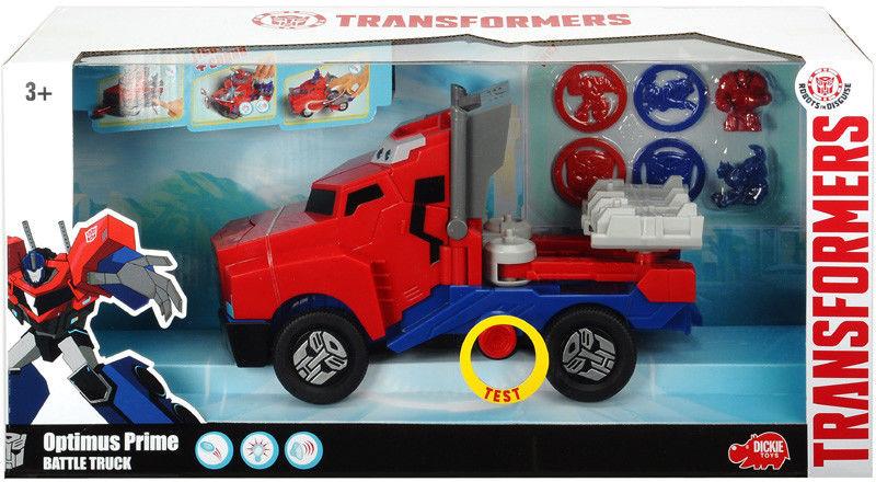 Dickie - Transformers Optimus Prime światło i dźwięk 203116003