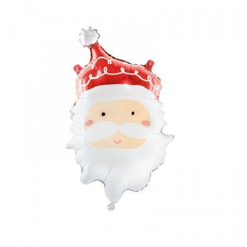 Balon foliowy Świąteczny Mikołaj