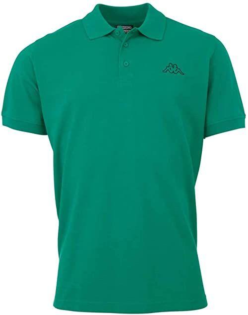 Kappa Peleot męska koszulka polo zielony zielony (green pepper) 5XL