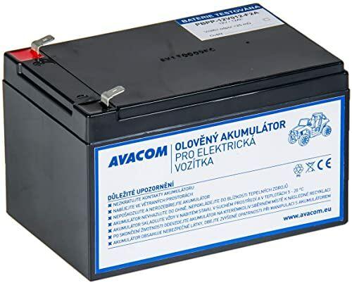 AVACOM PBPP-12V012-F2A akumulator ołowiowo-kwasowy 12 V 12 Ah do Peg Pérego F2