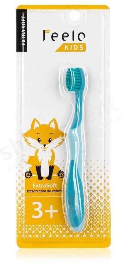 Feelo Kids Extra Soft - bardzo miękka szczoteczka do zębów dla dzieci od 3 lat