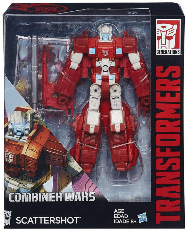 Hasbro - Transformers Combiner Wars Voyager Scattershot B4664 B0975