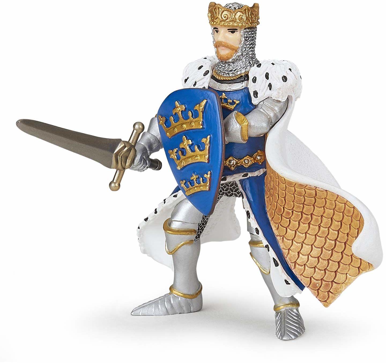 Papo 39953 Niebieski Król Arthur