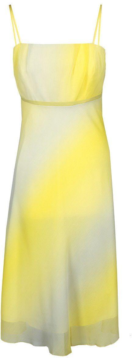 Sukienka FSU117 ŻÓŁTY