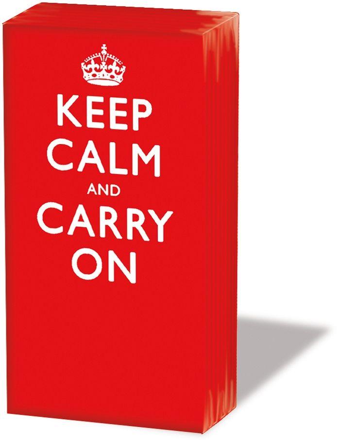 CHUSTECZKI DO NOSA - Keep Calm and Carry On