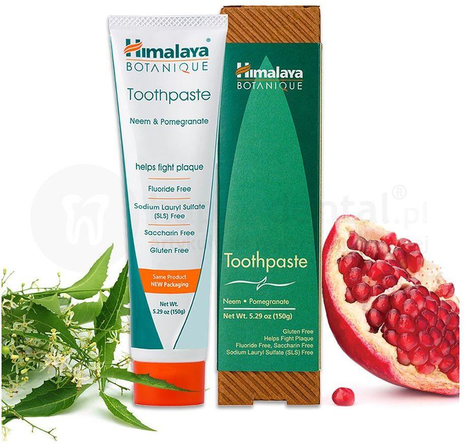 HIMALAYA Organique Neem & Pomegranate - organiczna pasta do zębów - 150g