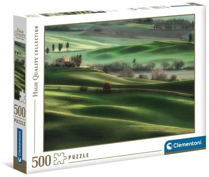 Puzzle 500 HQ Tuscany Hills - Clementoni
