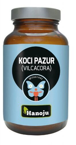 HANOJU Koci Pazur Vilcacora - Witalność - 400 mg- 90 kaps.