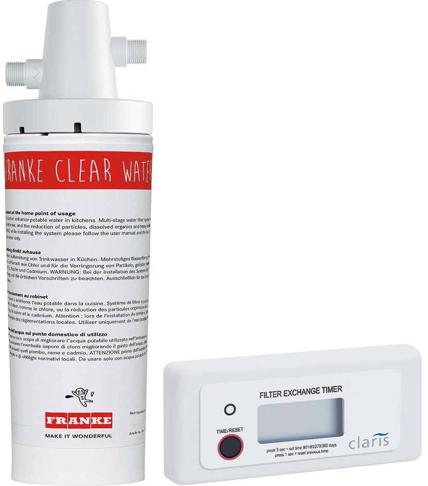 Franke - Zestaw filtrujący Clear Water
