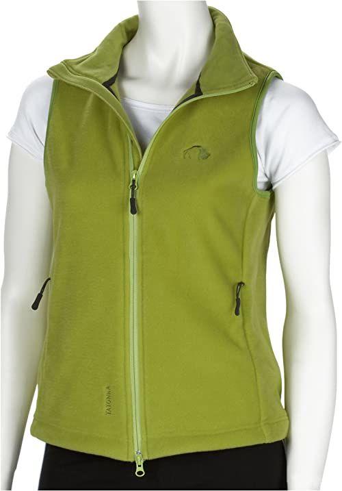 """Tatonka Essential damska kamizelka polarowa""""Montrose Lady Vest"""" z polaru, Gre 42, zielona oasis"""