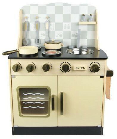 Drewniana kuchnia Vintage krem