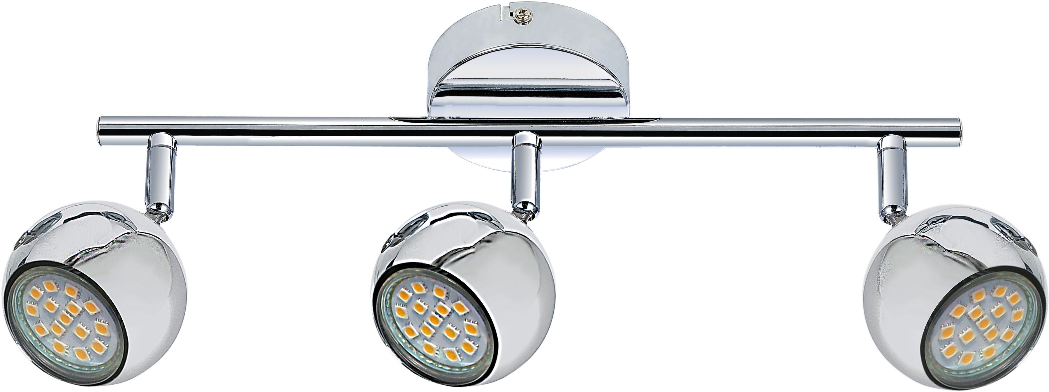 Candellux BALT 93-60587 listwa oświetleniowa chrom regulacja klosza 3x50W GU10 50cm