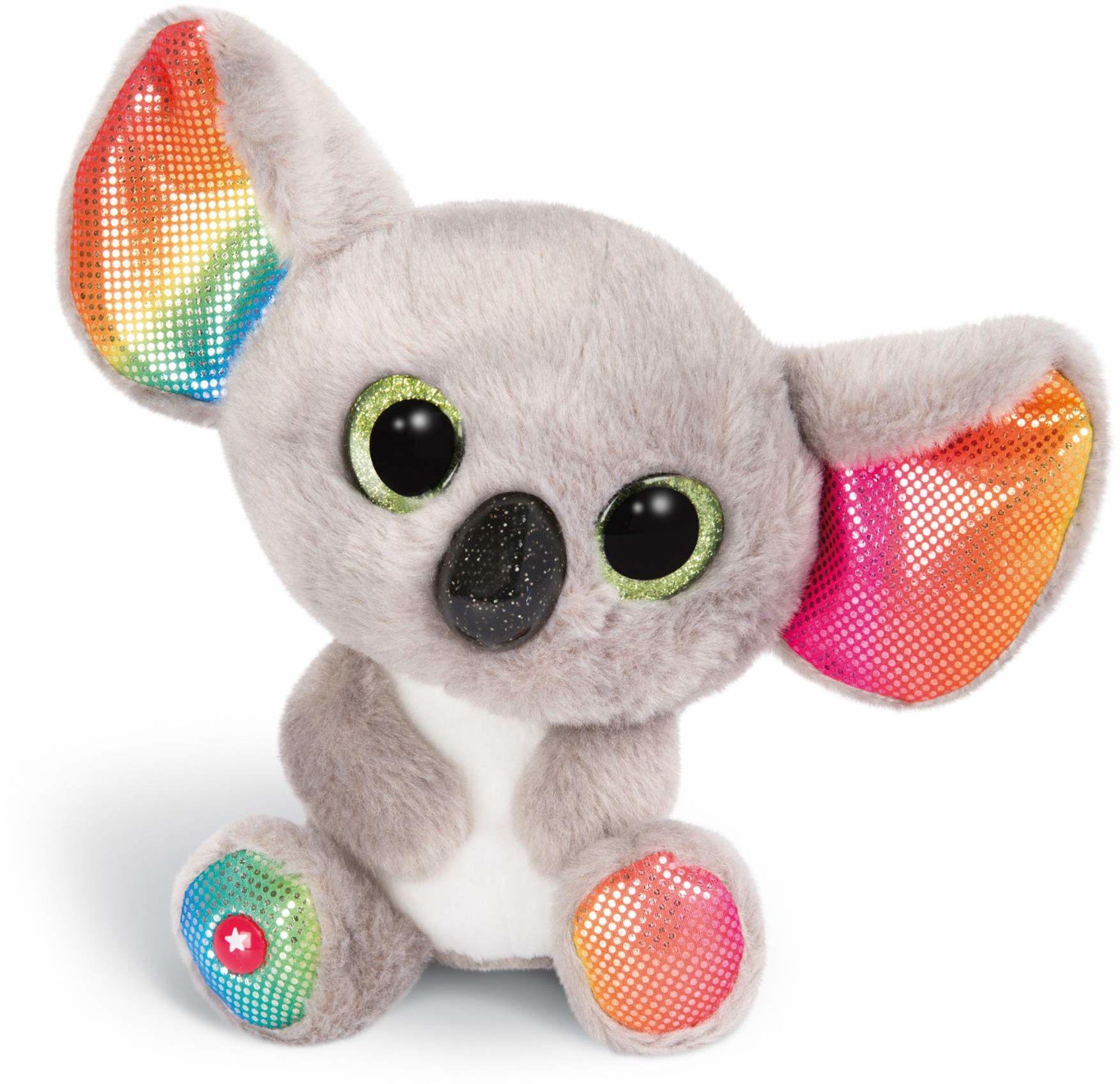 NICI Glubschis: Oryginalny  Glubschis Koala Miss Crayon 15 cm  przytulanka koala z dużymi oczami  pluszowy pluszak z dużymi błyszczącymi oczami  przytulanka dla miłośników pluszaków  46319
