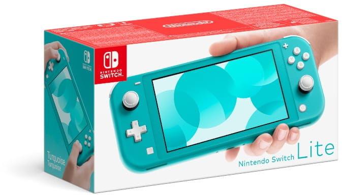 Konsola Nintendo Switch Lite - Turkusowa