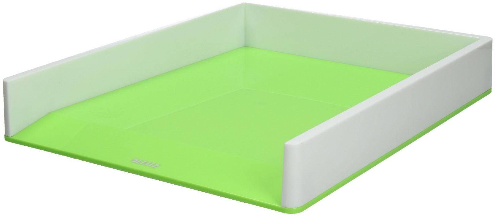 Półka dokumenty A4 biało/jasnozielona Wow Leitz