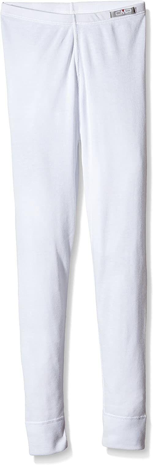 CMP Unisex dziecięca bielizna termiczna, spodnie, biała (Bianco), 116