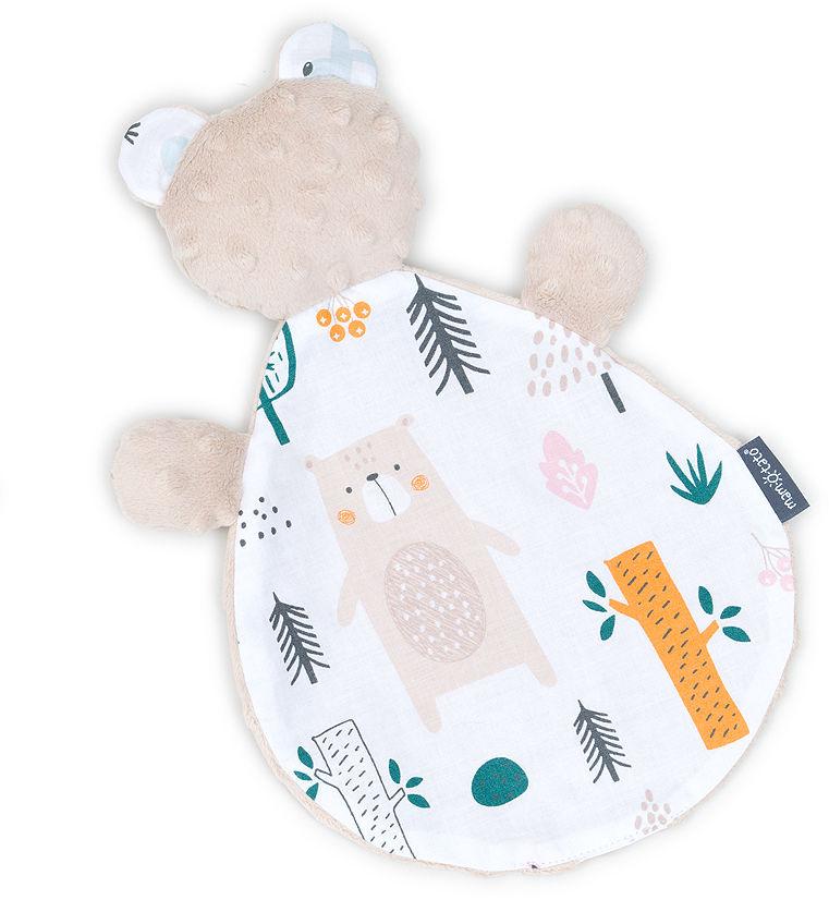 MAMO-TATO Zabawka przytulanka minky MIŚ Forest / beż
