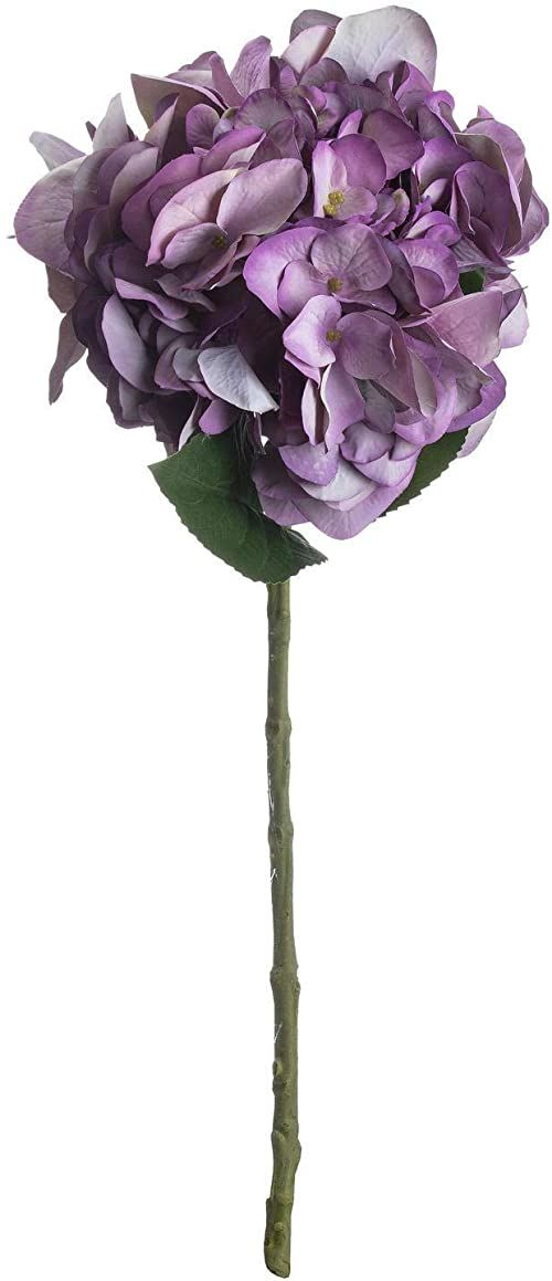 The Recipe Kwiaty hortensji, tworzywo sztuczne, różowy, 26,46 cm