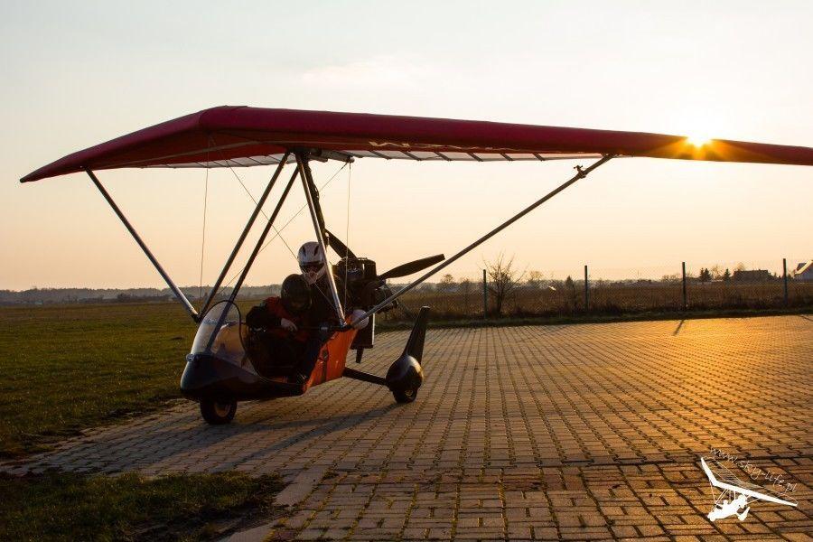 Lot motolotnią - Radom - 20 minut