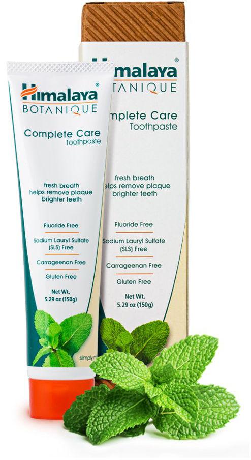 Himalaya Botanique Complete Care Simply Mint - naturalna pasta do zębów o smaku mięty - 150g