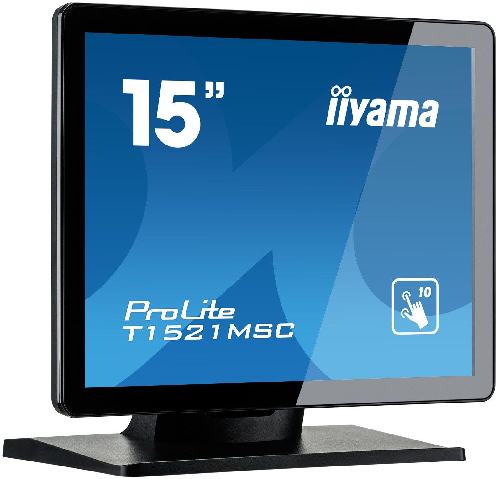 Monitor dotykowy iiyama ProLite T1521MSC-B1 15'' + WYSYŁKA W 24H GRATIS !! AUTORYZOWANY SKLEP IIYAMA