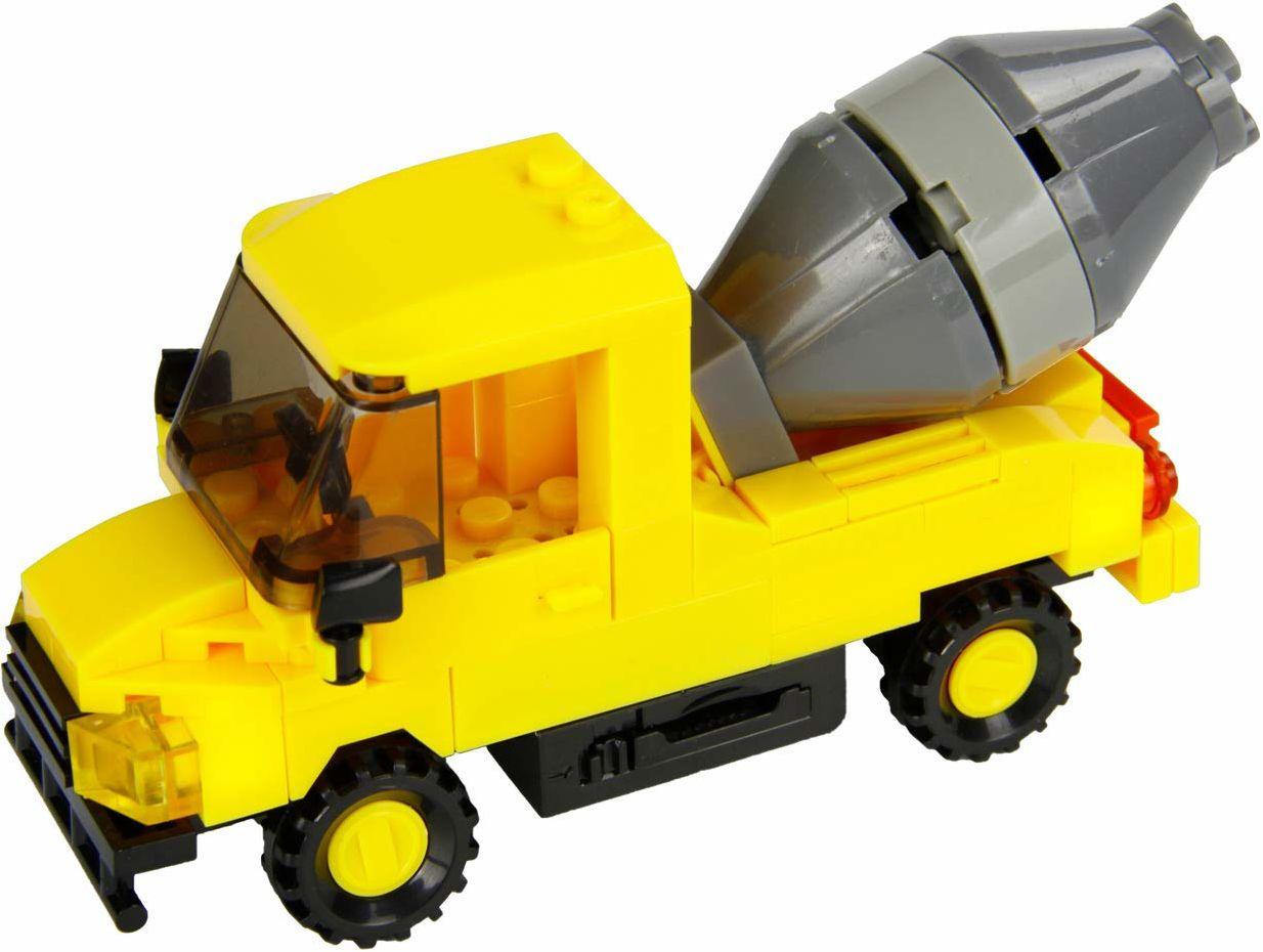 Abanico 30802  STAX Hybrid  mikser cementowy Truck, kompatybilny z systemem STAX i wszystkimi znanymi markami klocków, z 82 klockami i 6 STAX