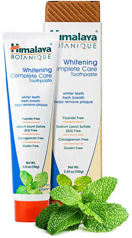 Himalaya Botanique Whitening Complete Care - wybielająca pasta do zębów o smaku mięty - 150g