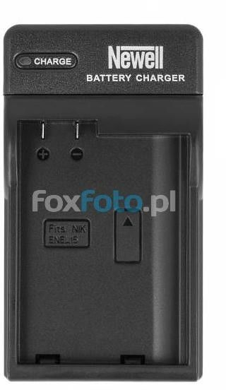 Ładowarka Newell DC-USB do akumulatorów EN-EL15 Nikon D810, D800E, D800, D750, D610, D600, D7200, D7100, D7000, J1 V1