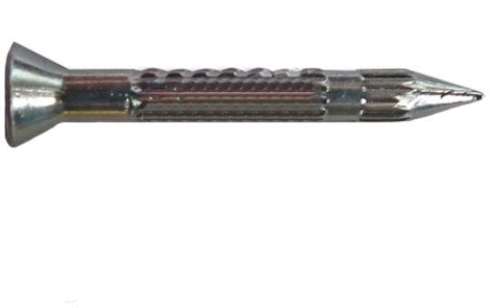 Gwoździe do betonu hartowane-ryflowane 250 sztuk - 25mm