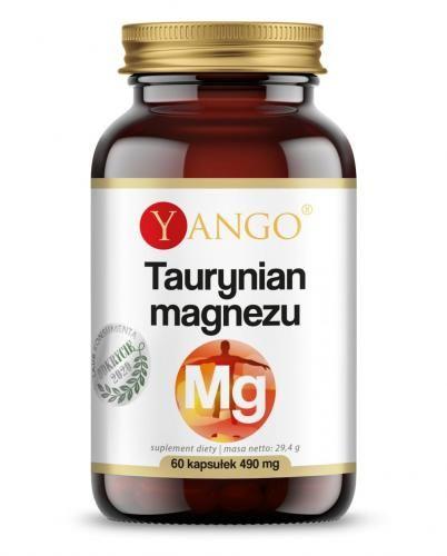 Taurynian magnezu - 60 kaps Yango