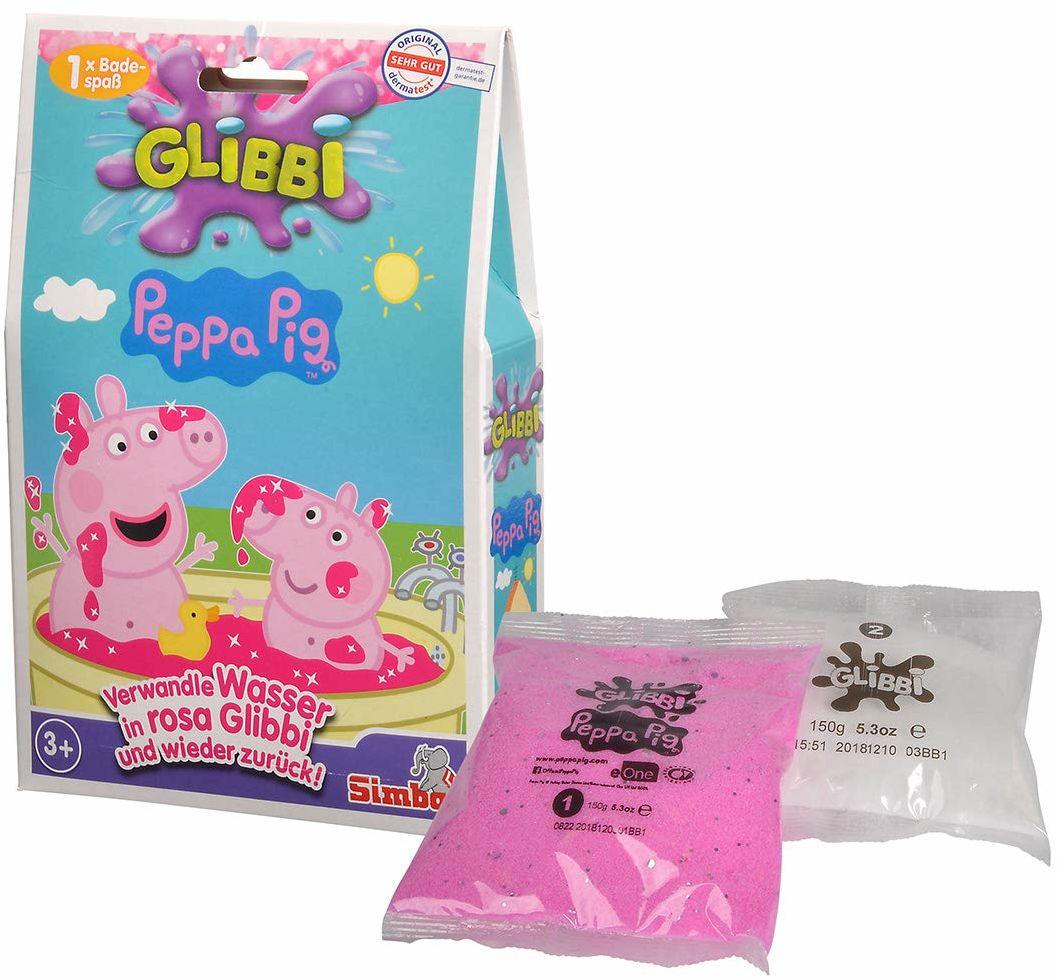 Simba 105953348 Glibbi Peppa Pig, wielokolorowy, jeden rozmiar