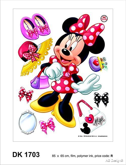 Naklejka ścienna DK 1703 Disney Minnie Mouse