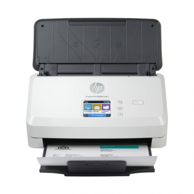 Skaner HP ScanJet Pro N4000 snw1 z podajnikiem (A4) (6FW08A)