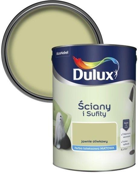 Farba Dulux Ściany i Sufity jawnie oliwkowy 5 l
