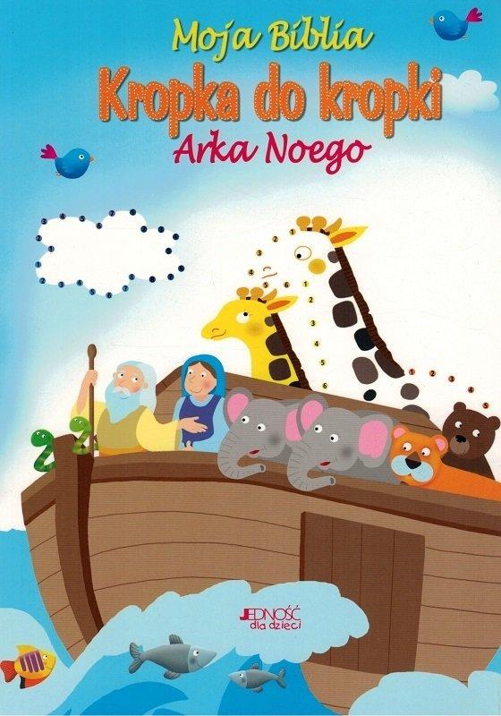 Moja Biblia kropka do kropki Arka Noego - Goodings Christina - blok rysunkowy