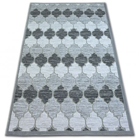 Dywan AKRYL YAZZ 3766 Grey Koniczyna Marokańska Trellis 80x150 cm