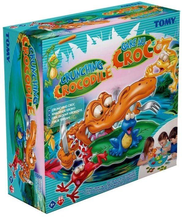 Tomy - Gra Głodny Krokodyl T72471