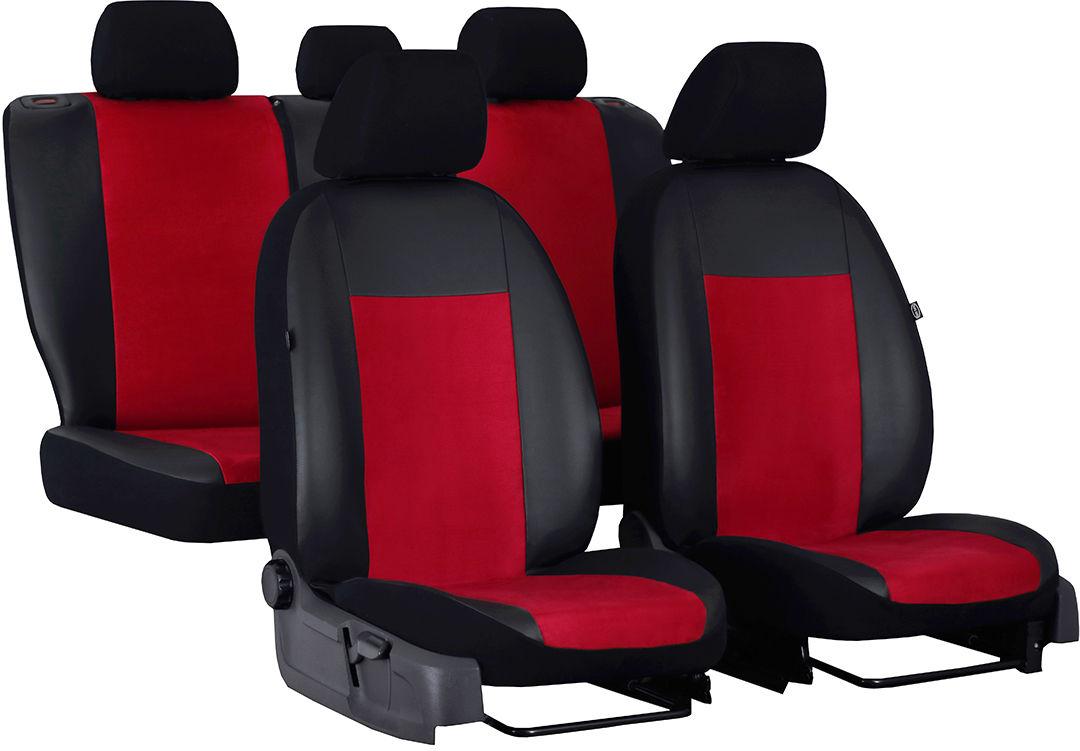 Pokrowce samochodowe do Ford Mustang coupe, Unico, kolor czerwony