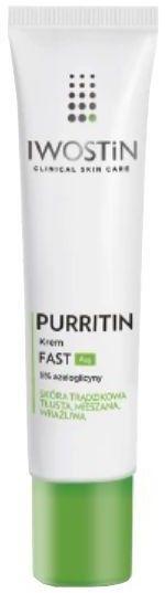IWOSTIN PURRITIN FAST AZG Krem 40 ml