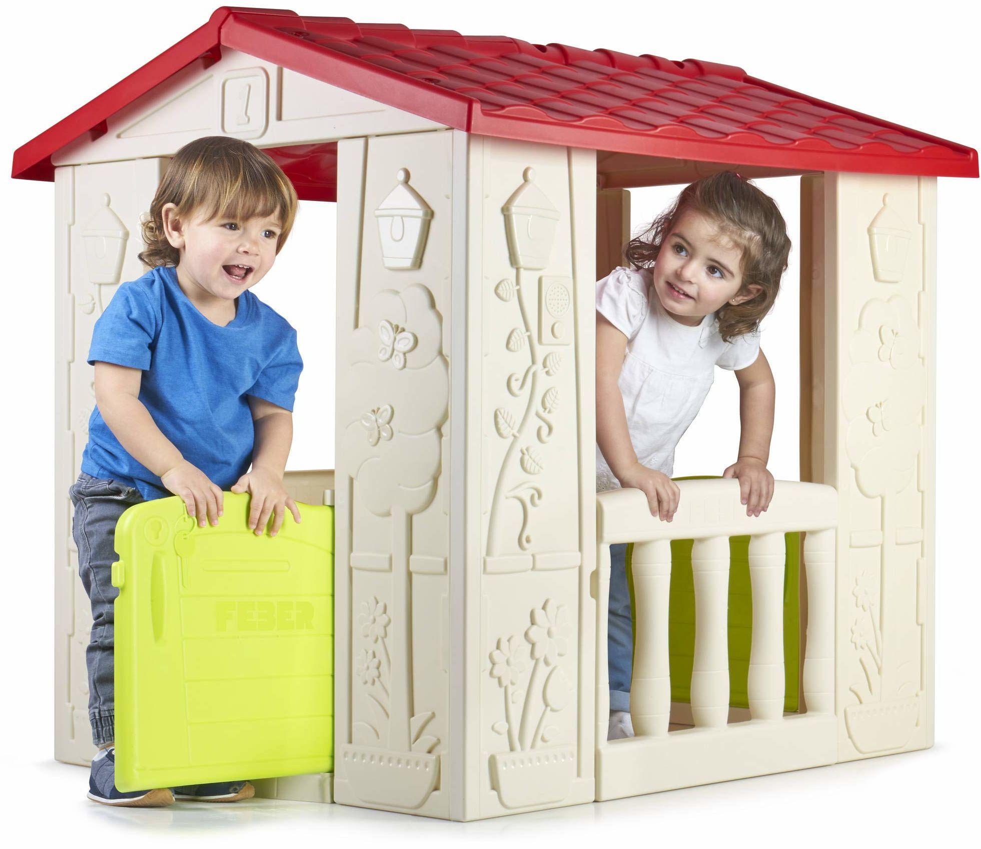 FEBER Famosa 800012380 domek do zabawy, dla dzieci w wieku od 2 do 6 lat