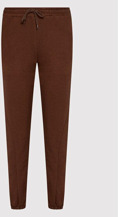 Spodnie dresowe 1100-004346-0212-581 Bordowy Regular Fit