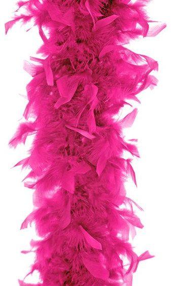 Szal boa z piór różowy 180cm 1 sztuka BOA-006